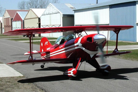 Pitts S-1T N68RH Serial No. 001  Built by Roger Hess