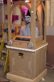 Cabinet Under Construction - MDF is Stable, Smooth, But Dusty