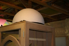 The Cast Dome is Checked for Fit and Appearance
