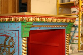 Close-up of Trim Details - These Are Best Guesses and Are Probably Quite Different from the Original Prop