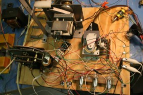 Stepper Switch from a Bowling Machine, a Timer, the Head-Rocking Motor, and Miscellaneous