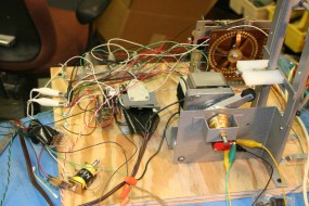 A Better View of the Stepper Switch & the Head-Rocking Motor Assembly