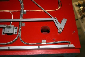 Left Rear of Top - The Holes Provide Ventilation for Lighting Heat