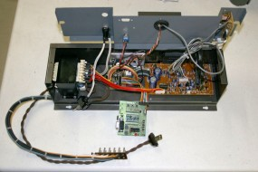 This is the Optional Sound/Music Module and Microprocessor; The Machine Functions (Quietly) Without It.
