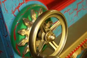 Left Hand Wheel With Rosette Trim