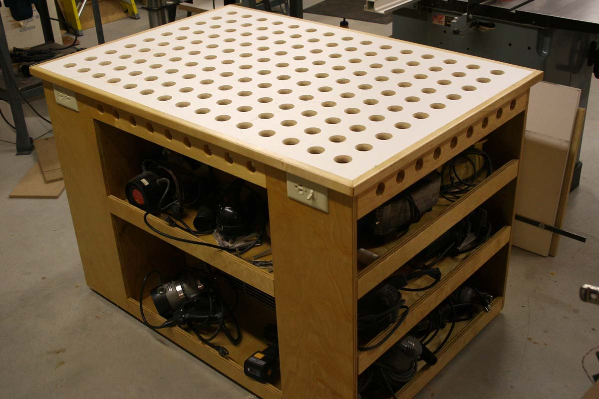 Power Tool Storage Rack Plans Diy Free Download Diy